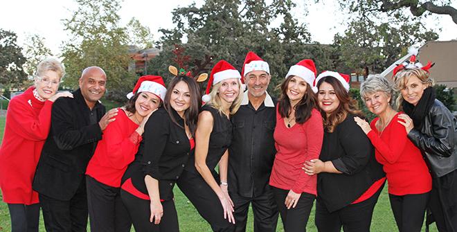 dentist staff in holiday spirit thousand oaks