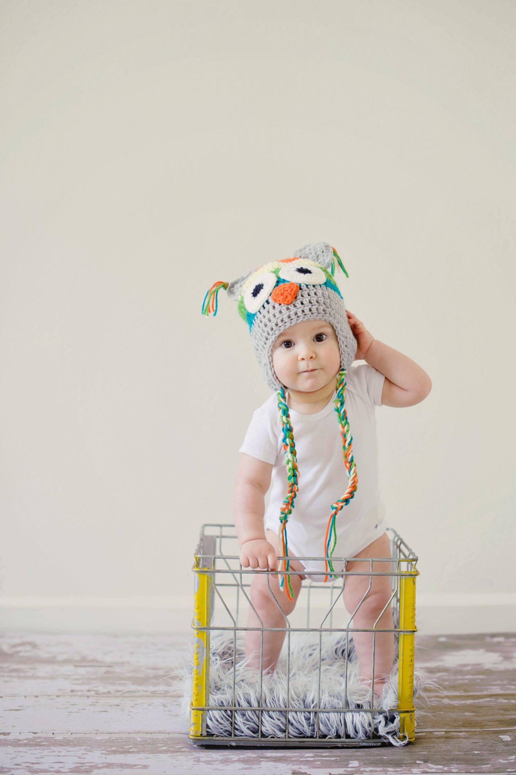 cute baby dental care