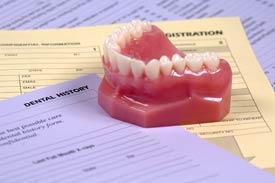dentures exam