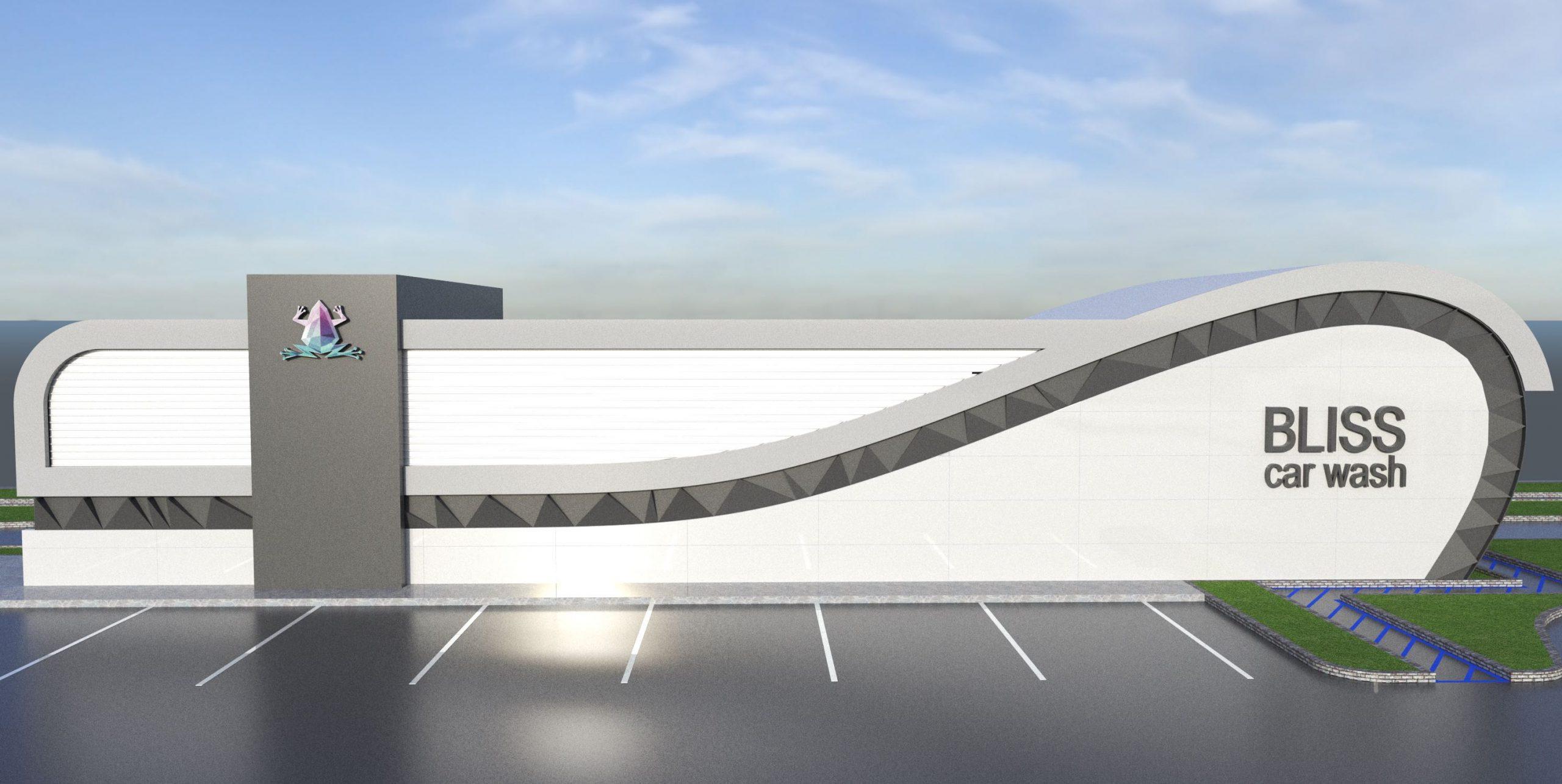 car wash rendering as engineering